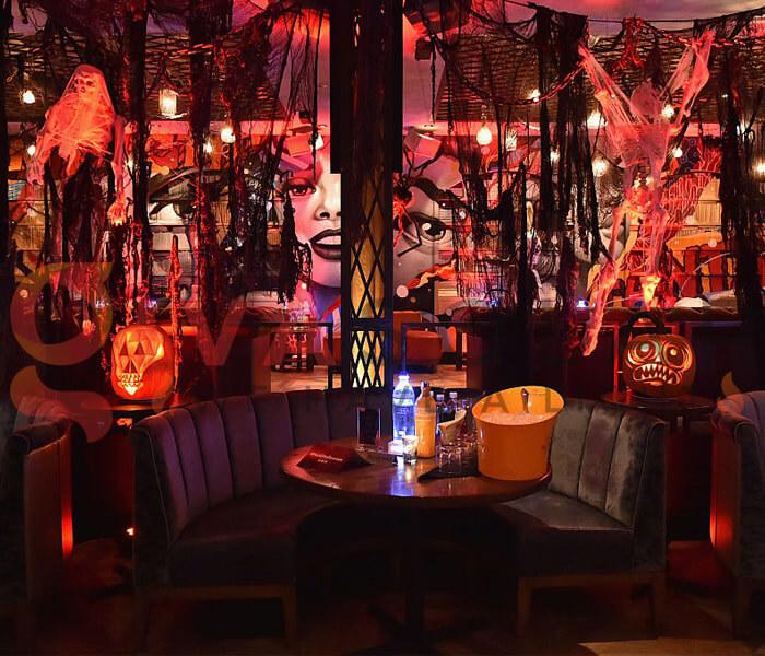 Ý tưởng trang trí Halloween cho nhà hàng, quán ăn 5
