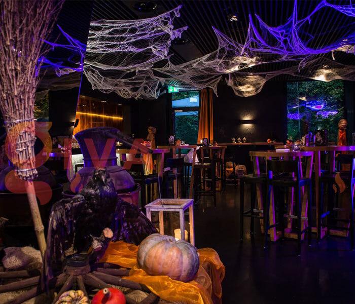 Ý tưởng trang trí Halloween cho nhà hàng, quán ăn 6