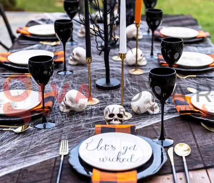 Ý tưởng trang trí Halloween cho nhà hàng, quán ăn 8