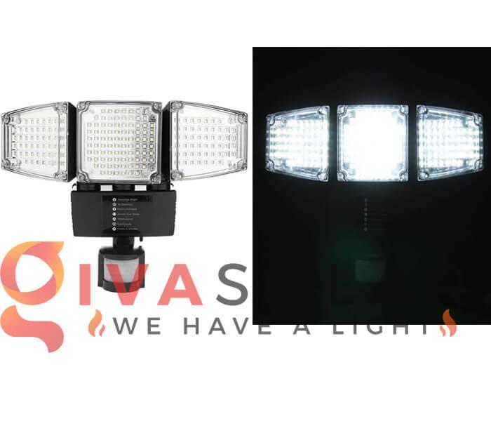 Loại bóng đèn LED của đèn pha năng lượng mặt trời