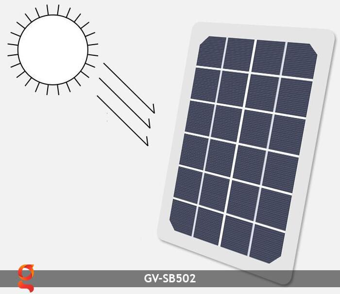 Balo sử dụng năng lượng mặt trời GV-SB502 15