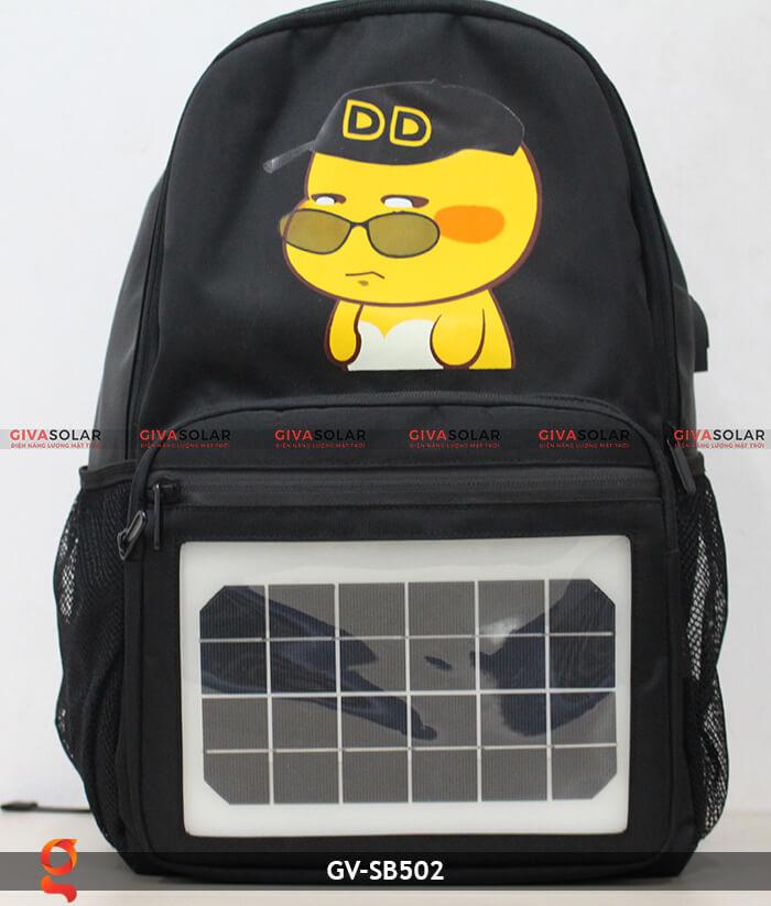 Balo sử dụng năng lượng mặt trời GV-SB502 1