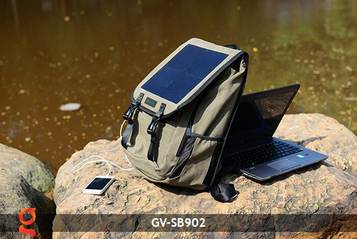 Balo sạc năng lượng mặt trời GV-SB902 12
