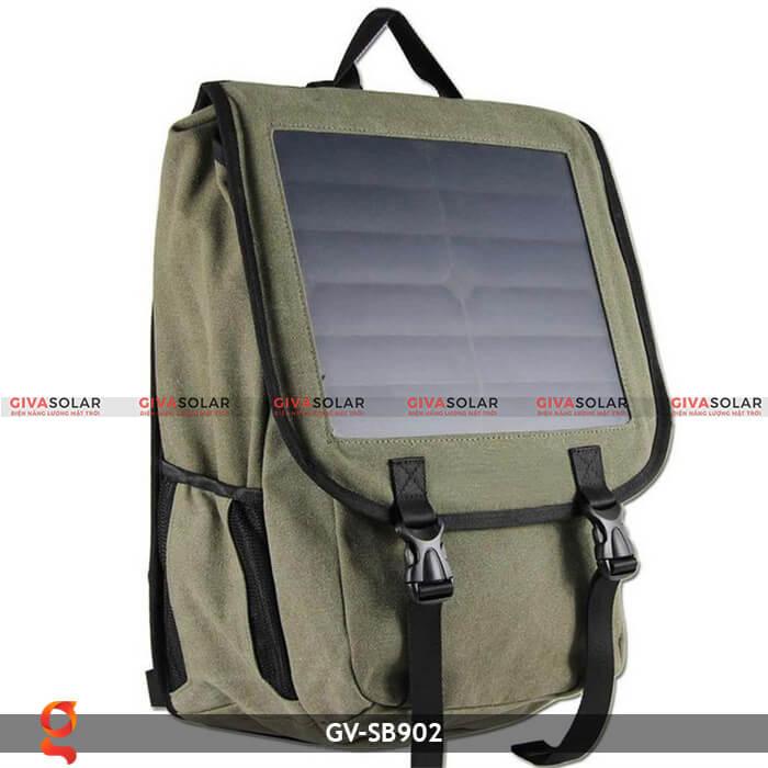 Balo sạc năng lượng mặt trời GV-SB902 2