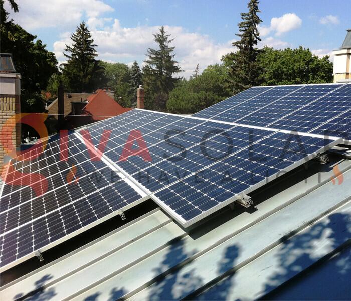 cách lắp đặt pin năng lượng mặt trời 1