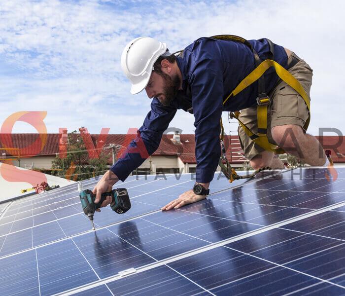 cách lắp đặt pin năng lượng mặt trời 2