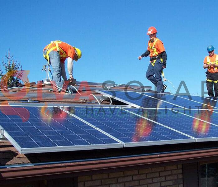 cách lắp đặt pin năng lượng mặt trời 6
