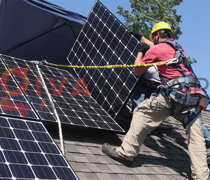cách lắp đặt pin năng lượng mặt trời 9