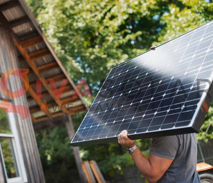 cách lắp đặt pin năng lượng mặt trời