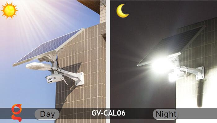 Bộ camera năng lượng mặt trời và đèn đường GV-CAM06 13