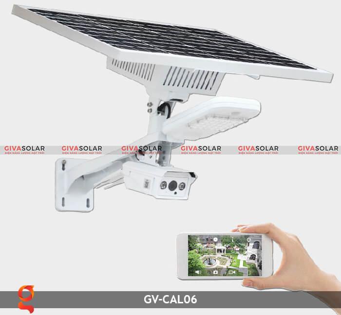 Bộ camera năng lượng mặt trời và đèn đường GV-CAM06 4