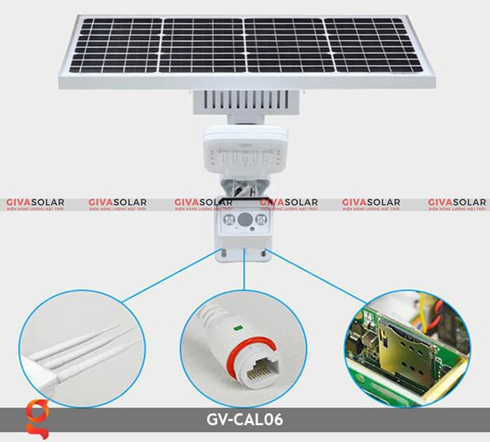 Bộ camera năng lượng mặt trời và đèn đường GV-CAM06 6