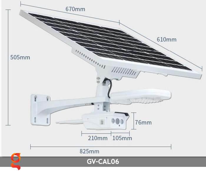 Bộ camera năng lượng mặt trời và đèn đường GV-CAM06 7