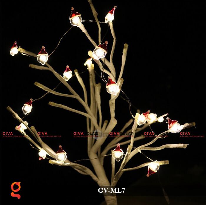 Dây đèn Led trang trí hình Santa GV-ML7 1