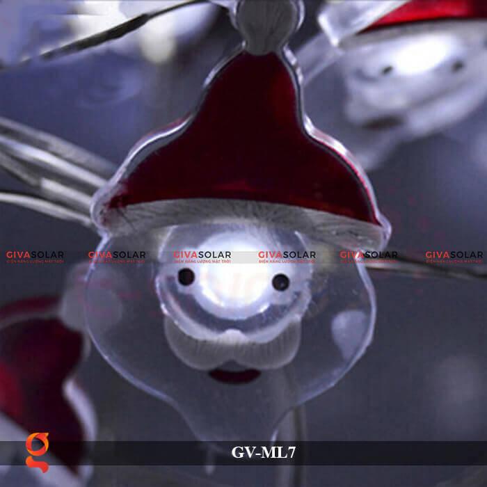 Dây đèn Led trang trí hình Santa GV-ML7 10