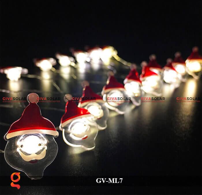 Dây đèn Led trang trí hình Santa GV-ML7 4