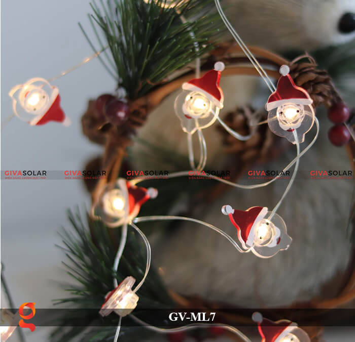 Dây đèn Led trang trí hình Santa GV-ML7 6