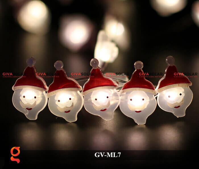 Dây đèn Led trang trí hình Santa GV-ML7 8