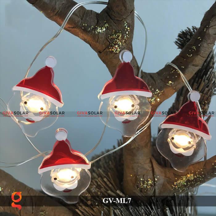 Dây đèn Led trang trí hình Santa GV-ML7 9