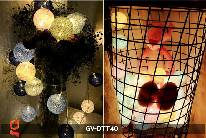 Dây đèn trang trí quả cầu GV-DTT40 10