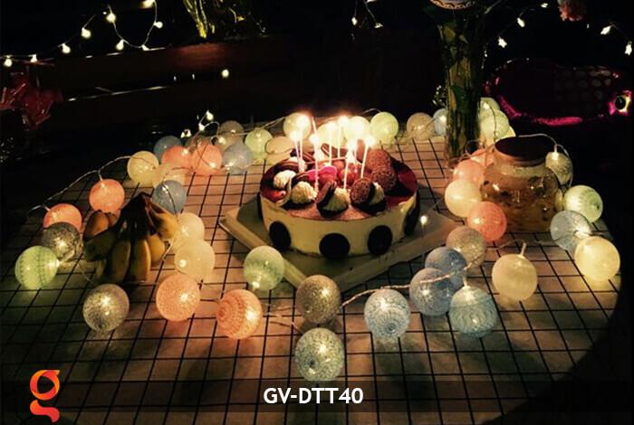 Dây đèn trang trí quả cầu GV-DTT40 11