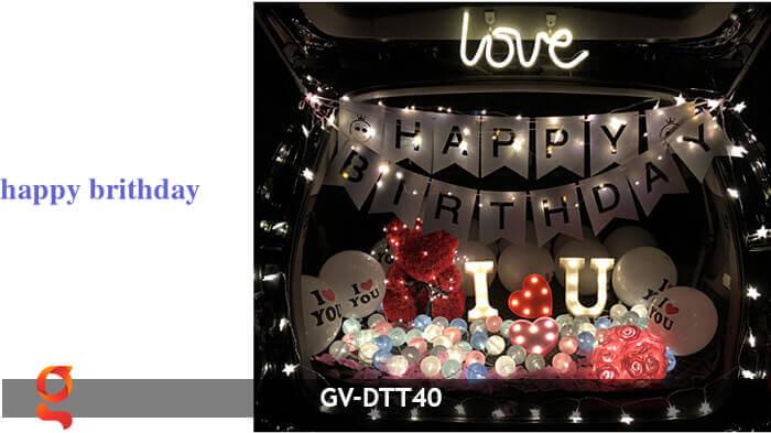 Dây đèn trang trí quả cầu GV-DTT40 19