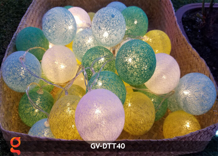 Dây đèn trang trí quả cầu GV-DTT40 2