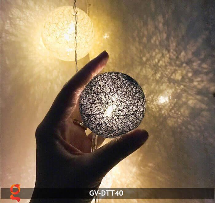Dây đèn trang trí quả cầu GV-DTT40 8
