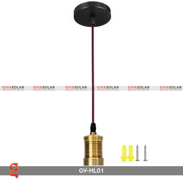 Dây đuôi đèn thả trang trí GV-HL01 2