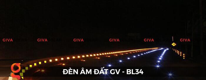 Đèn chỉ dẫn giao thông âm sàn năng lượng mặt trời GV-BL34 10