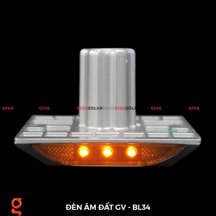 Đèn chỉ dẫn giao thông âm sàn năng lượng mặt trời GV-BL34 13