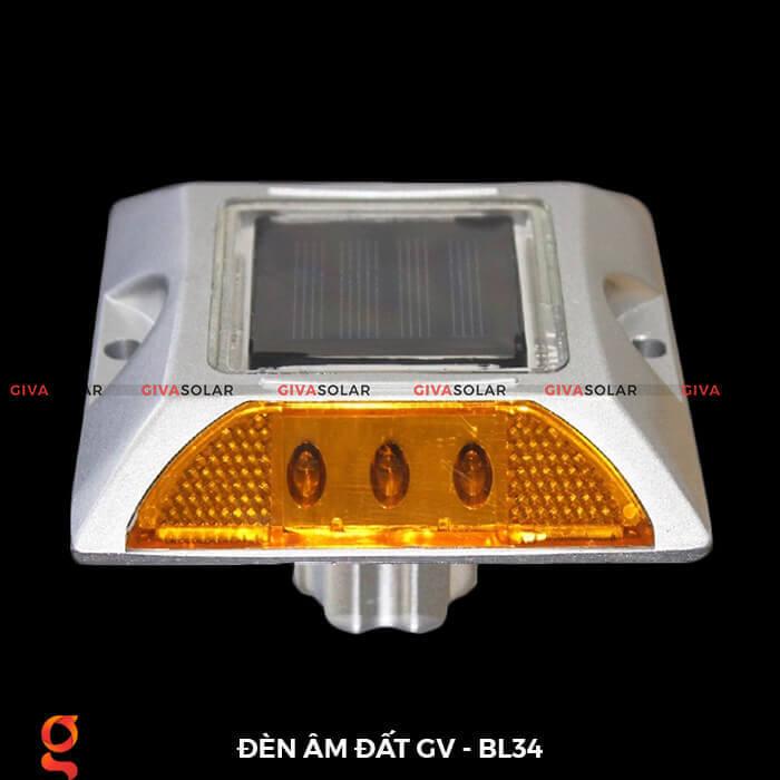 Đèn chỉ dẫn giao thông âm sàn năng lượng mặt trời GV-BL34 14