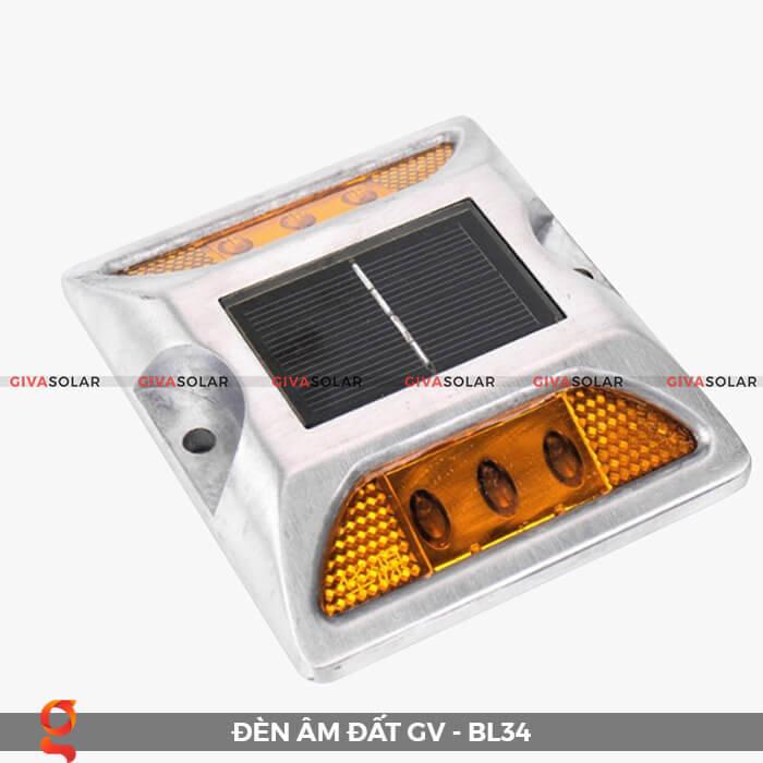 Đèn chỉ dẫn giao thông âm sàn năng lượng mặt trời GV-BL34 2