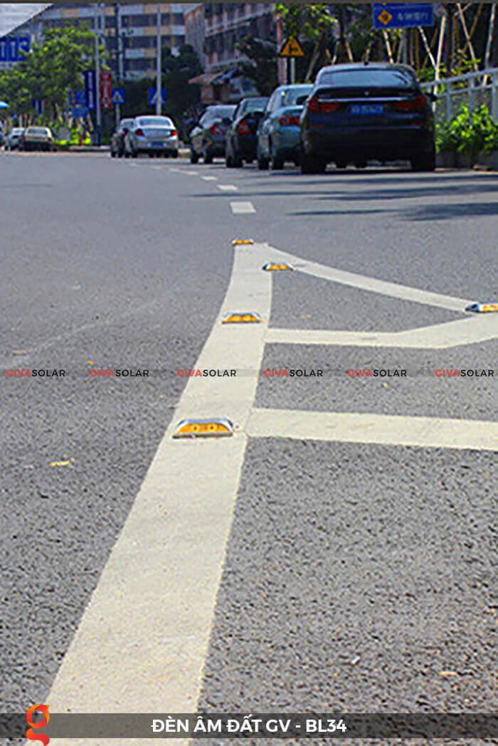 Đèn chỉ dẫn giao thông âm sàn năng lượng mặt trời GV-BL34 9