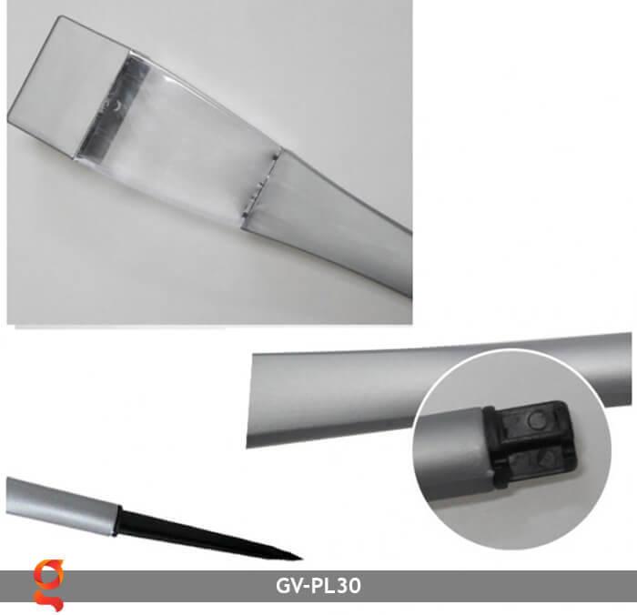 Đèn cắm cỏ năng lượng mặt trời GV-PL30 12