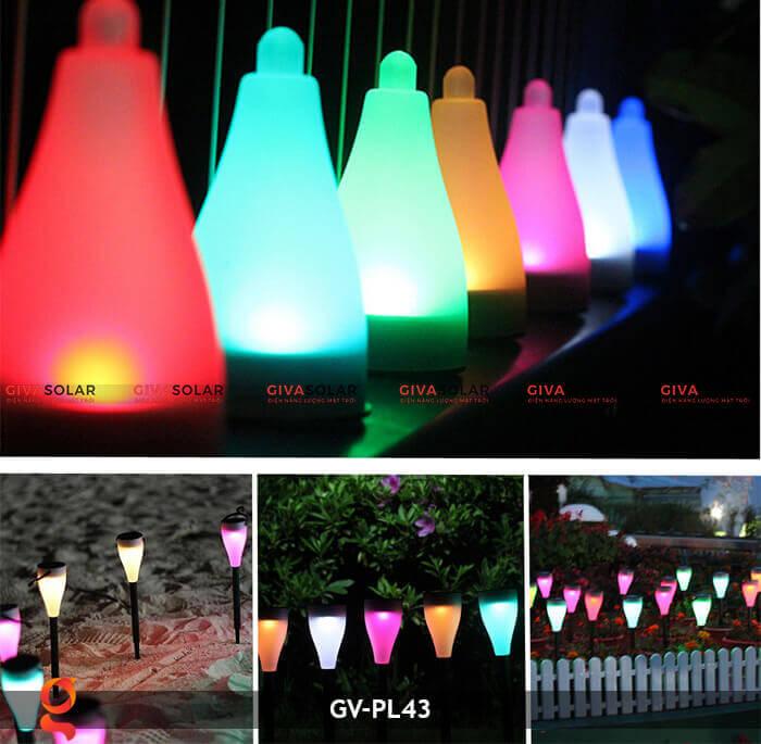 Đèn cắm đất năng lượng mặt trời GV-PL43 1
