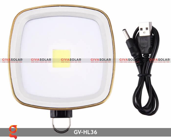 Đèn Led cầm tay năng lượng mặt trời GV-HL36 4