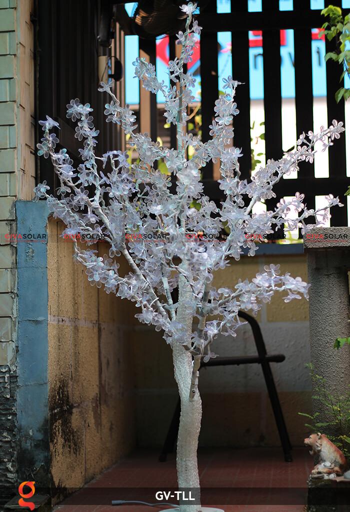 Đèn cây hoa trang trí noel, tết GV-TLL 10