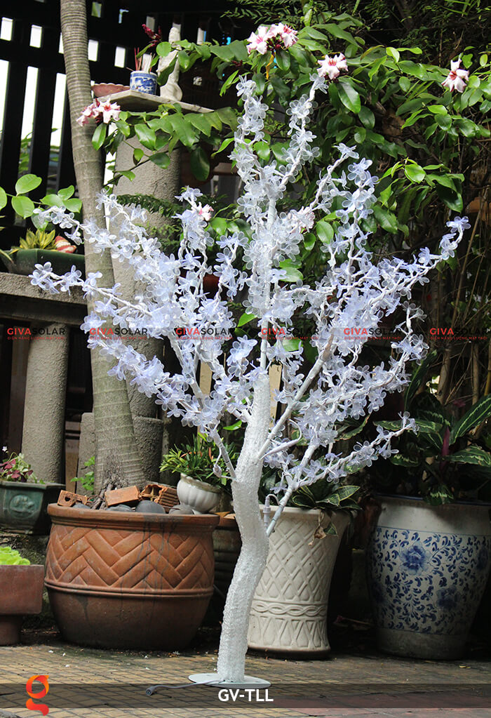 Đèn cây hoa trang trí noel, tết GV-TLL 11