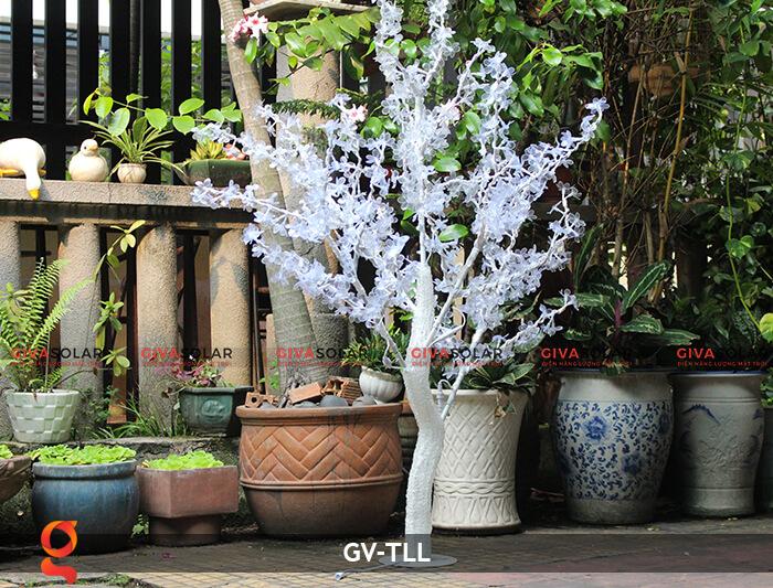 Đèn cây hoa trang trí noel, tết GV-TLL 12