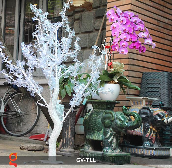 Đèn cây hoa trang trí noel, tết GV-TLL 13