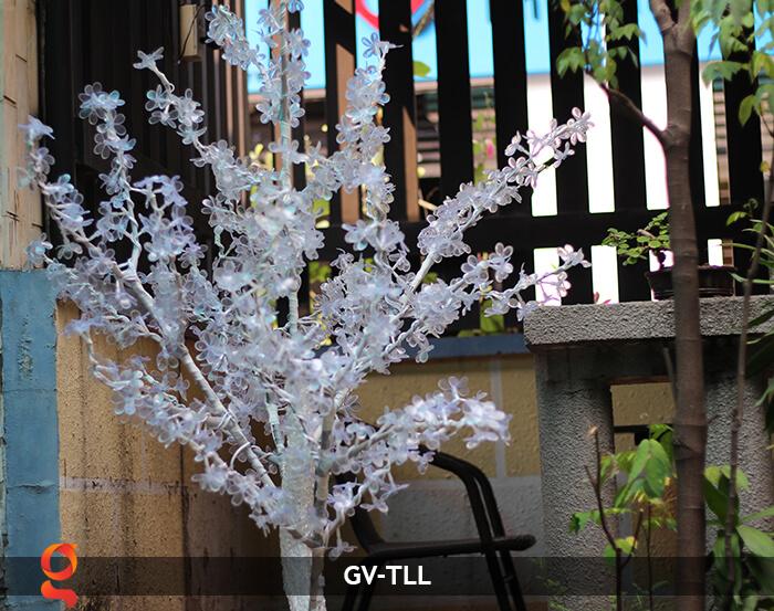 Đèn cây hoa trang trí noel, tết GV-TLL 15