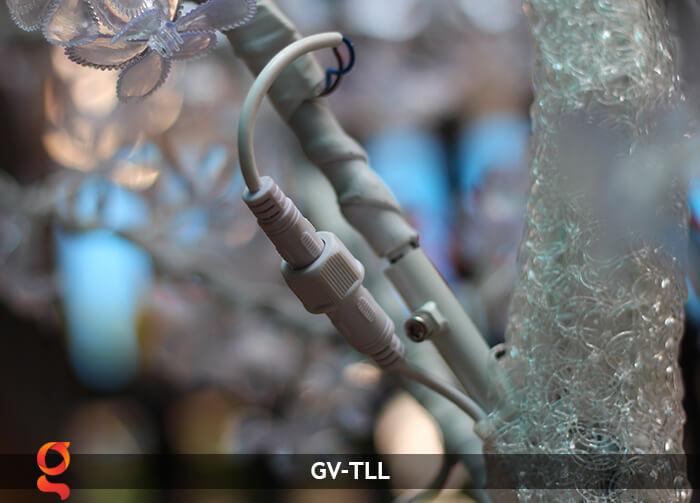 Đèn cây hoa trang trí noel, tết GV-TLL 19