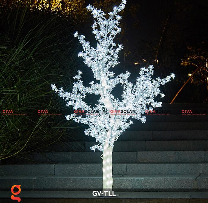 Đèn cây hoa trang trí noel, tết GV-TLL 2
