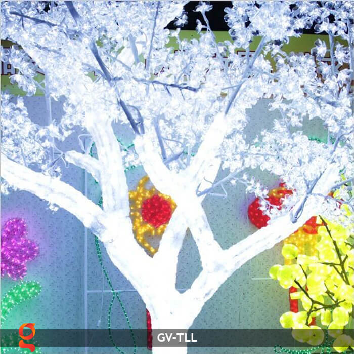 Đèn cây hoa trang trí noel, tết GV-TLL 21