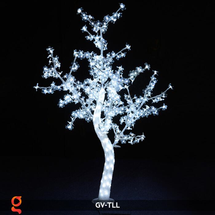Đèn cây hoa trang trí noel, tết GV-TLL 5