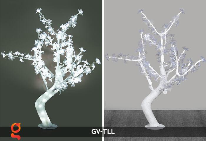 Đèn cây hoa trang trí noel, tết GV-TLL 7