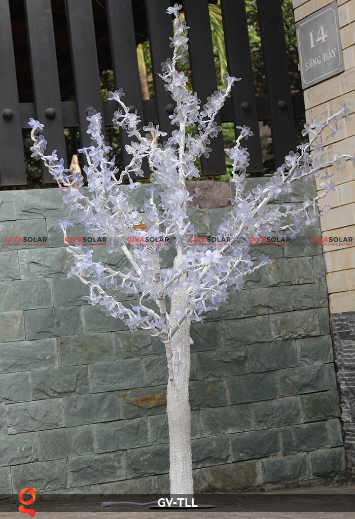 Đèn cây hoa trang trí noel, tết GV-TLL 8