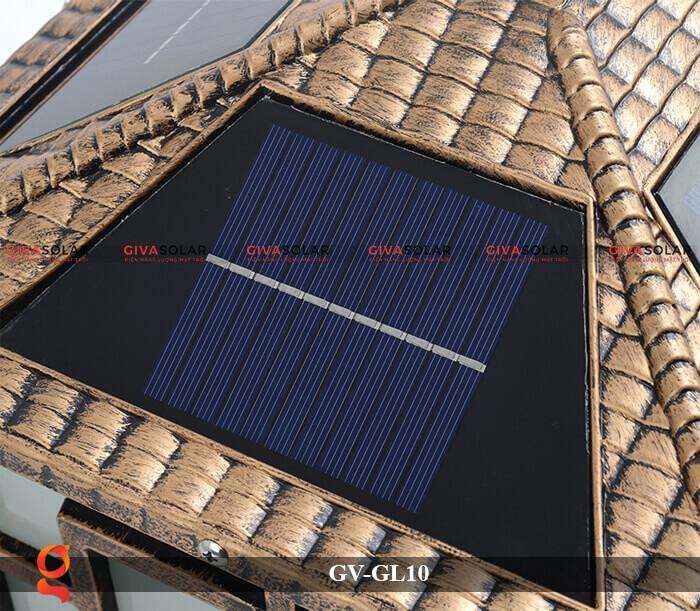 Đèn trụ cổng sử dụng năng lượng mặt trời GV-GL10 10