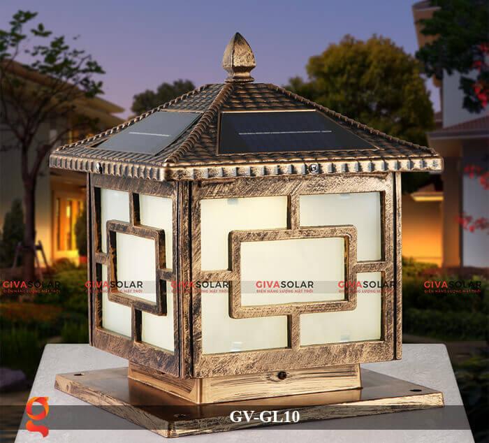 Đèn trụ cổng sử dụng năng lượng mặt trời GV-GL10 2